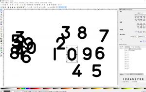 Inkscapeを使って自作フォントを作るやり方