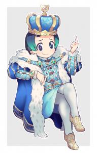 フレンズたちの王、キュルル